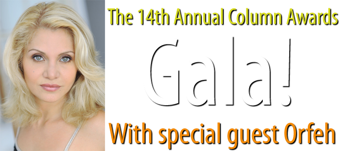 Orfeh to be the special guest at The 14th Annual Column Awards