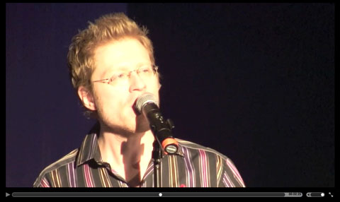 Anthony Rapp singing Wicked Little Town